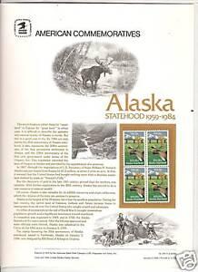 2066-ALASKA-STATEHOOD-1984-COMMEMORATIVE-PANEL