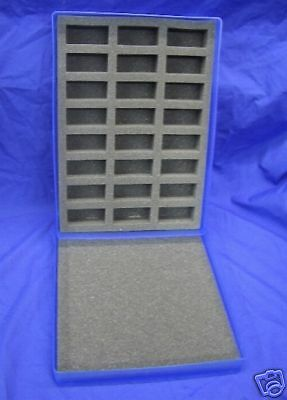 N Gauge  Plastic Storage Box & Foam Tray - BLUE # 111