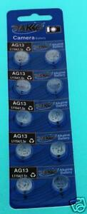 10pcs-AG13-LR44-SR44-SR47-L1154-357-A76-LR1154-Battery