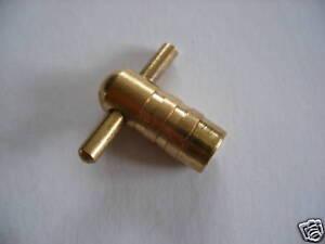 4x-laton-macizo-Calefaccion-Central-Radiador-ventilacion-llave