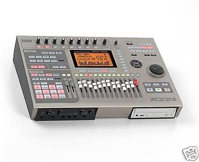 ZOOM MRS-1608 CD MULTI TRACK DIGITAL HARD DRIVE RECORDING STUDIO 8 16 802 1266