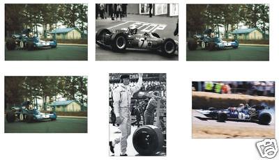Jackie Stewart F1 Formula One POSTCARD Set