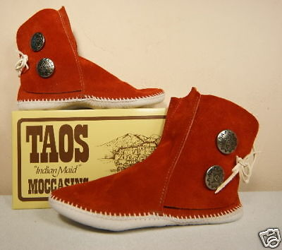Amazon.com | Taos Moccasins Womens Leather 2 Button