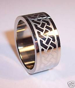 FRED-BENNETT-STAINLESS-STEEL-MENS-RING-SIZE-S-BNIB-GIFT