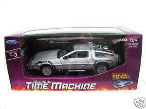 Welly-DeLorean-Part-I-Time-Machine-1-24-Diecast-Car