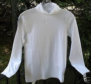 Talbots Kids Boys Turtleneck Cotton Shirt Top Tee Nwt