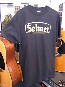 Vintage-Selmer-logo-T-Shirt-amp-british-tube-valve