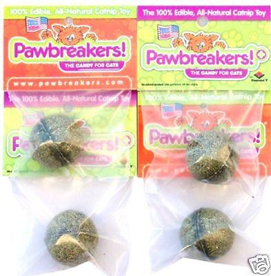 Catnip, Catnip Treats For Cats- 4 Pawbreakers- Candy For Cats