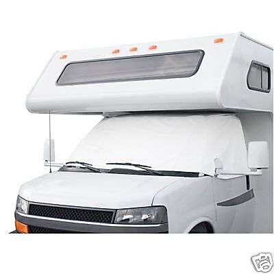 Dodge Sprinter Class C RV Windshield Cover White