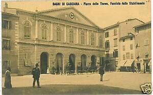 CARTOLINA d\'Epoca: BAGNI DI CASCIANA - PISA | eBay