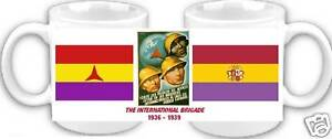 INTERNATIONAL BRIGADE SPANISH CIVIL WAR TRIBUTE  MUG