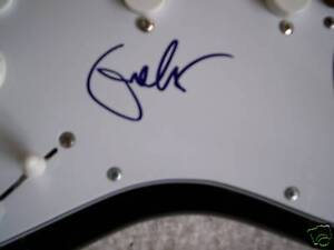 CREAM/ERIC CLAPTON SIGNED 'BLACKIE' FENDER GUITAR PROOF RARE REAL BLACKIE!