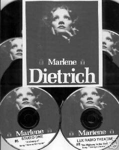 MARLENE-DIETRICH-8-CD-Gift-Set-Old-Time-Radio-Shows-OTR