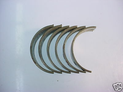 Fiat 850 Spyder & Coupe AE Main Bearings M3351 .020 *