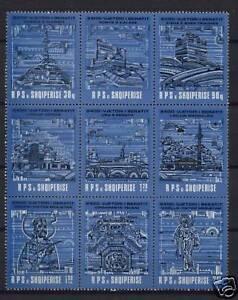 Albania-1990-SG-2469-73-Berat-Anniv-MNH-Set-Block