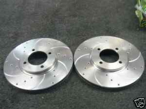 CAPRI 2.8 DRILLED GROOVED BRAKE DISC  FRONT VENTED 245M