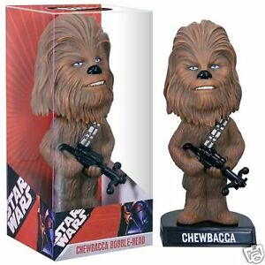 STAR-WARS-CHEWBACCA-wookie-Wacky-Wobbler-Bobble-Head-BN