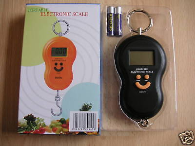Portable scale Digital WEIGHING SCALES Luggage, parcel, 40kg
