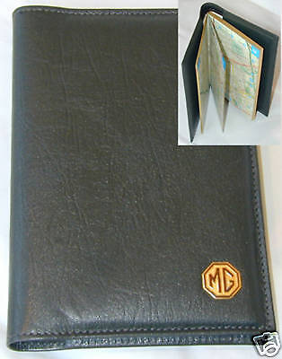 MG LONDON A-Z COVER, LEATHER, A6, BRAND NEW (MGR6)