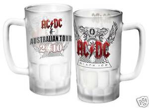 81930 ACDC AC/DC BLACK ICE 2010 AUSSIE TOUR BEER STEIN