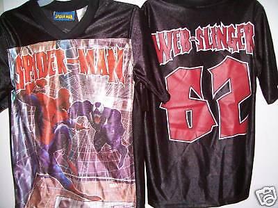 Spiderman 2 Sided Short Sleeve Shirt Boys Size 8