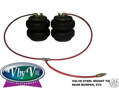 Air Bag Suspension Line Kit 3/8 Npt Brass ( Bags Not Included ) 1(pr) Each