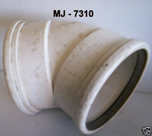 """Canada PVC - PSM 6"""" Hub x 6"""" Hub - No. 3624-050/130 (NOS)"""