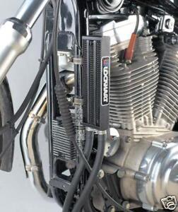 Lockhart Chrome Oil Cooler Kit Harley Xl Models 83 98 Ebay