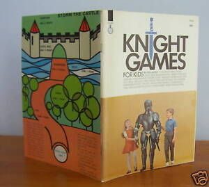 KNIGHT-GAMES-For-Kids-by-Will-Moss-Card-Games-etc-1967