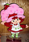 Vintage Strawberry Shortcake Decorations