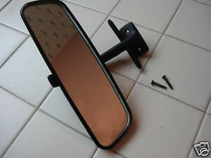 Porsche 914 interior rear view mirror bmw conversion with glass blimishes ebay for Interior rear view mirror replacement glass