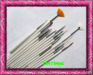 15pcs-Nail-Art-Gel-Painting-Pen-Polish-Brush-Kit