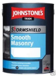 Johnstones masonry paint 5ltr any colour exterior paint ebay - Johnstones exterior paint set ...