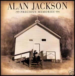 ALAN JACKSON - PRECIOUS MEMORIES Country CD Album *NEW*