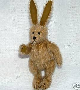 TRADITIONAL TEDDY BEAR MAKING KIT mohair jointed rabbit - perfect Christmas gift
