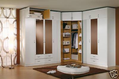 details about modern european bedroom closet wardrobe clothes armoire