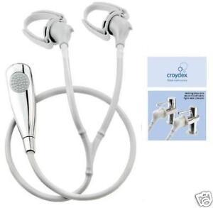 Croydex Secura Tap Fitting Shower Head Amp Hose Shower Ebay