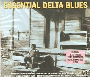 ESSENTIAL DELTA BLUES 2 CD BOXSET - MUDDY WATERS & MORE