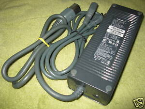 203w-XBOX-360-Power-Supply-Brick-Cord-Cable-AC-Adapter
