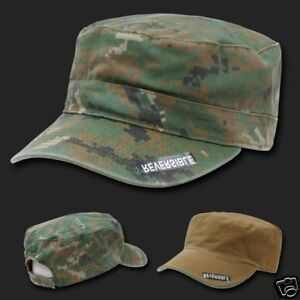CAMOUFLAGE-REVERSIBLE-ARMY-MILITARY-GI-BDU-CAP-HAT-WD