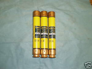 Lot-of-Bussman-LPS-RK-25SP-Dual-Elements-Low-Peaks