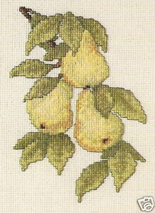 Pear-Harvest-Cross-Stitch-Chart-Pattern
