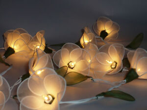 20-WHITE-FLOWER-STRING-PARTY-PATIO-FAIRY-DECOR-CHRISTMAS-WEDDING-BEDROOM-LIGHTS