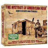 'HISTORY OF AMERICAN FOLK' 3 CD SET Feat. Pete Seeger