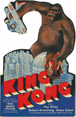 King Kong Fay Wray 1933 Vintage movie poster print 15