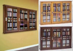 Sliding Door Wall Mount Cabinet Rack 525 CD 216 DVD NEW | eBay