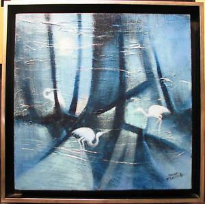 Gayle-Russell-039-s-Australian-original-acrylic-039-Moon-Worshippers-039