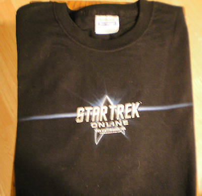 Star Trek Online T-shirt Xl Black