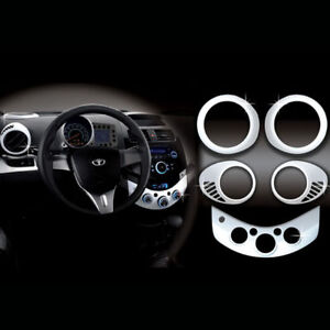 Chevy Holden 10+ Spark Chrome Interior Kit moldings