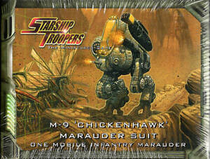 Starship Troopers: M-9 Chickenhawk Marauder Suit MGP910008 Science Fiction Game
